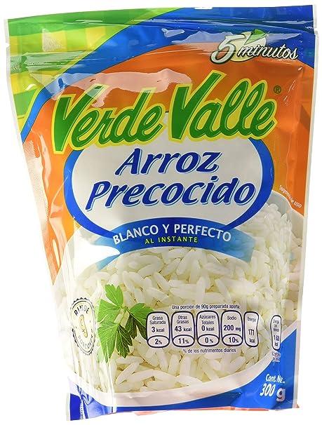 Arroz Blanco Precocido Verde Valle Mexicano. Listo en 5 ...