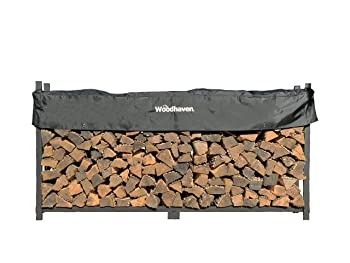 Woodhaven 8 Feet Firewood Rack