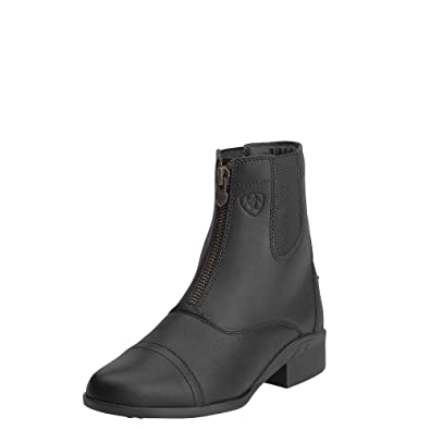 d68b2c844480fa ARIAT Women s Scout Zip Paddock Boot Black Size 6.5 B Medium Us