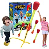 The Original Stomp Rocket Ultra Rocket, 4 Rockets - Outdoor Rocket Toy Gift for Boys and Girls - Comes with Toy Rocket…