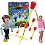 The Original Stomp Rocket® Ultra Rocket, 4 Rockets - Outdoor Rocket Toy Gift for Boys and Girls Ages 5 Years and Up…
