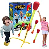The Original Stomp Rocket Ultra Rocket, 4 Rockets - Outdoor Rocket Toy Gift for Boys and Girls - Comes with Toy Rocket Launch