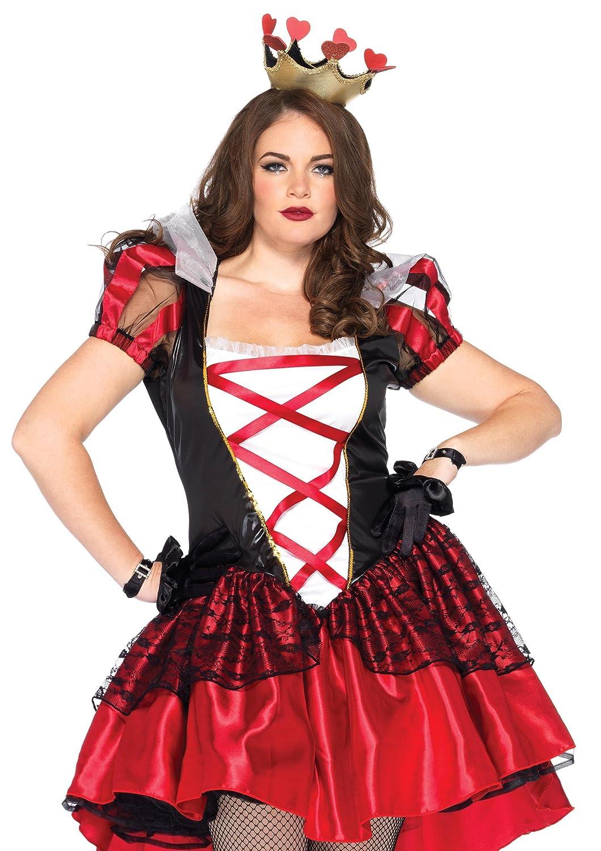 Damenschuhe Plus Royal Queen Fancy dress costume 5X