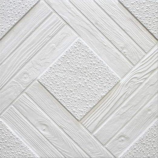 Paneles para techo en poliestireno expandido, 64 unidades ...