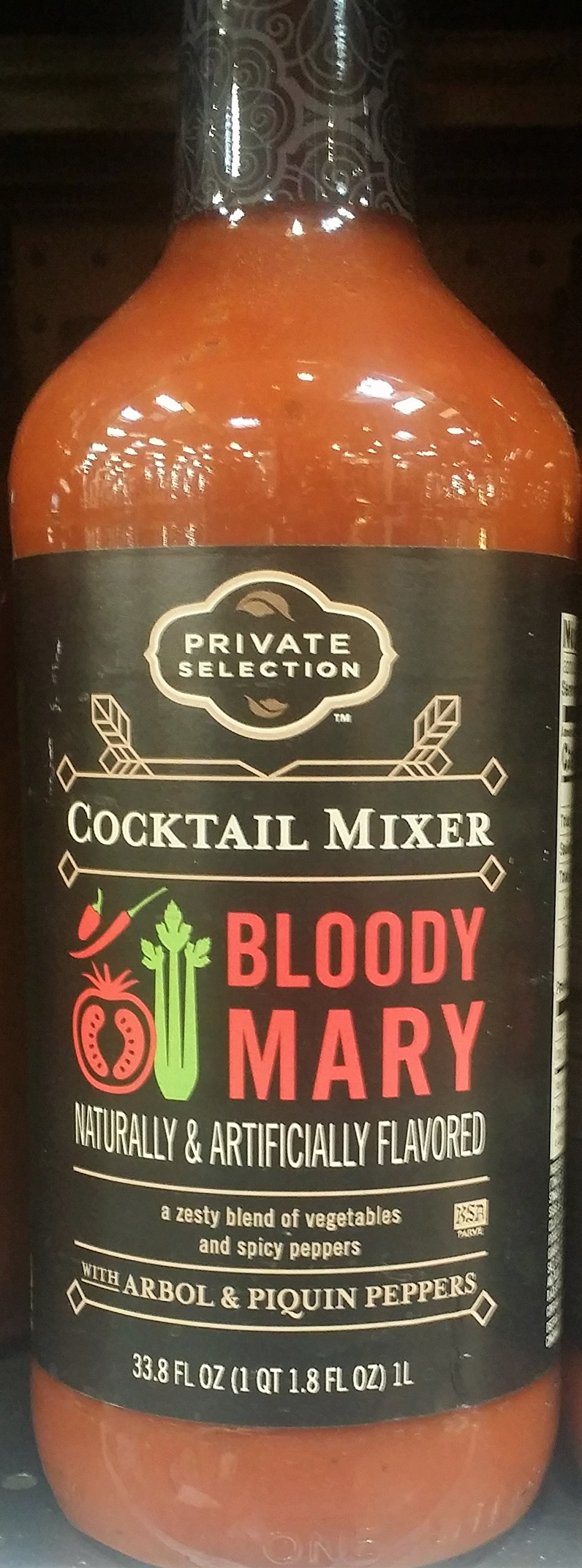 Private Selection Bloody Mary Cocktail Mixer 33 oz (Pack of 2)
