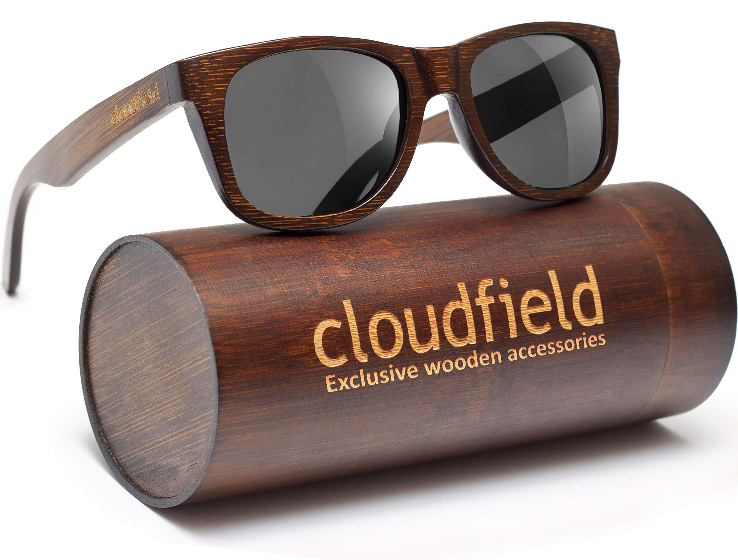 Wood Sunglasses Polarized for Men and Women - Bamboo Wooden sunglasses by cloudfield