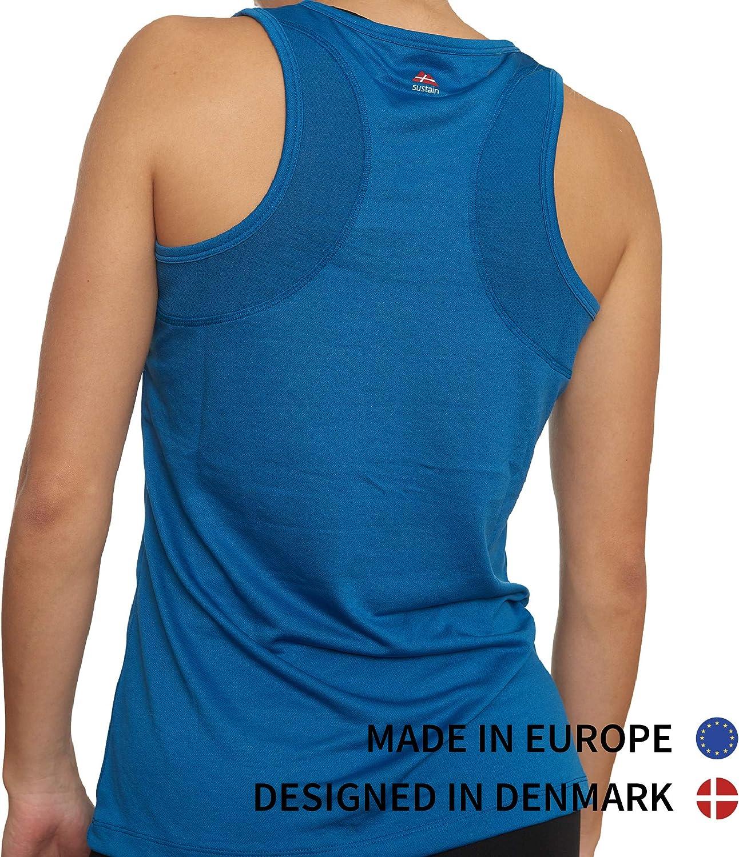 Gym Fitness Running Yoga Sleeveless Racerback Loose Top for Workout DANISH ENDURANCE Women/'s Fitness Tank Top