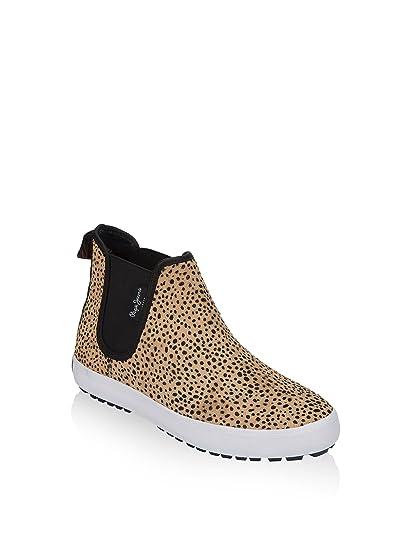 Pepe Jeans London Botines Ripley Animal Print Leopardo EU 36