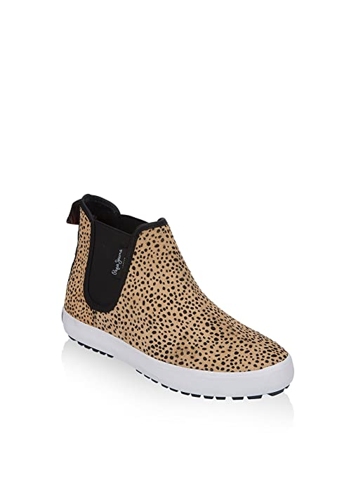 Pepe Jeans London Botines Ripley Animal Print Leopardo EU 36