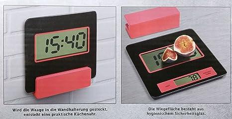 Báscula de cocina digital Báscula de cocina reloj de cocina
