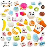 Amaza 30Pcs Squishy Slow Rising Squishy Kawaii Morbidi Anti Stress Giocattolo (Casuale)