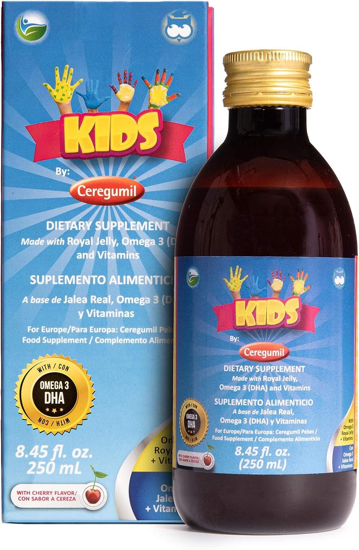 CEREGUMIL 150513.2 Kids (Pekes), Oral Solution, 250 ml: Amazon.es: Salud y cuidado personal