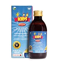 Ceregumil Kids Algae Omega 3 DHA Liquid Daily Multivitamin with Royal Jelly for...