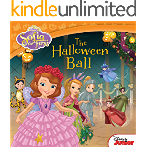 Sofia the First: The Halloween Ball (Disney Storybook (eBook)): Includes Stickers