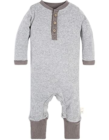 a71e7e1bf82 Burt s Bees Baby - Baby Boys  Romper Jumpsuit