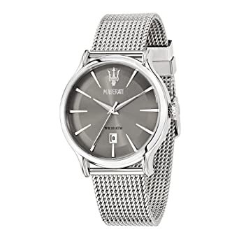 Maserati Reloj Analógico de Cuarzo para Hombre con Correa de Acero Inoxidable - R8853118002: Amazon.es: Relojes