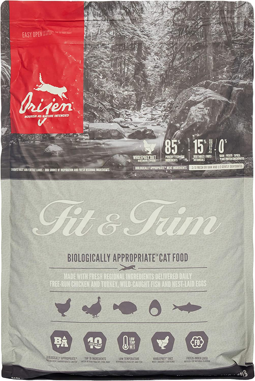ORIJEN Fit & Trim comida para gato 5.4 kg