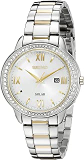 Seiko Womens Recraft Crystal Solar Watch