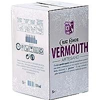 Vermouth Rojo Artesano Cruz Conde 15º Box 5 Litros