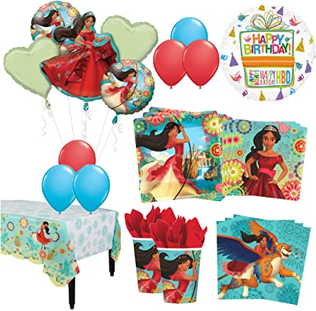 Amazon.com: The Ultimate 8 invitados 53pc Princesa Elena de ...