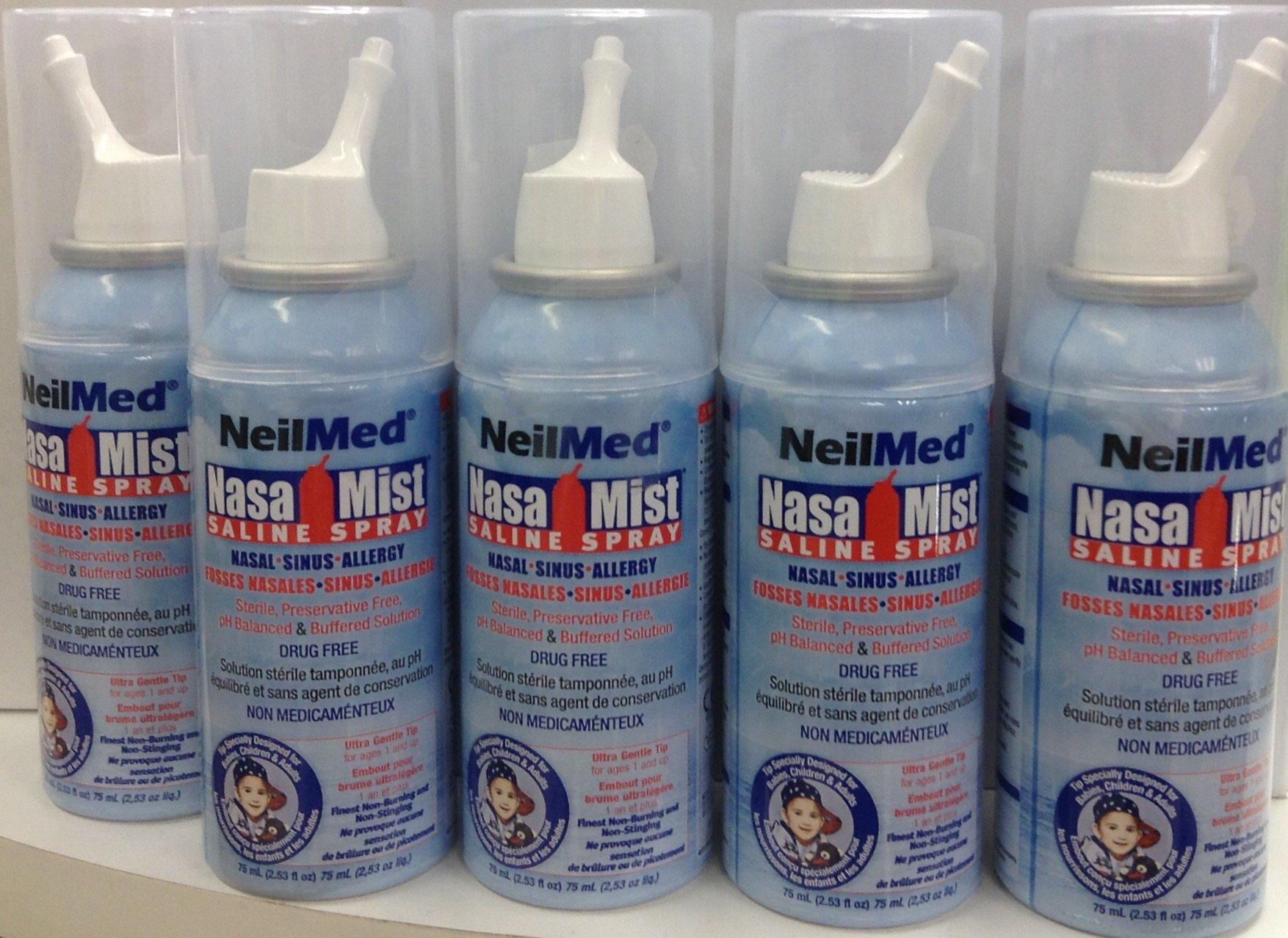 Neilmed Nasamist Saline Spray - 75 Ml by NeilMed