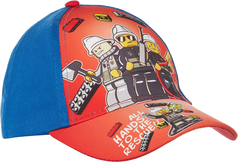 LEGO CITY Gorra de béisbol para Chicos Rojo 52: Amazon.es: Ropa y ...