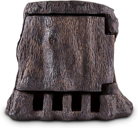 R/ésiste aux /éclaboussures et au froid Allumage et extinction faciles Gris fonc/é 10 A // 250 V ~ C/âble 5 m 4 prises de terre Waldbeck Power Rock Mutliprise