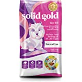 Solid Gold Wee Bit Holistic Dry Dog Food, Bison & Brown Rice with Pearled Barley, Active Dogs of All Life Stages, Small