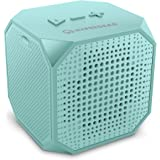 HyperGear Sound Cube Bluetooth Speakers, Rechargeable 5W Portable Wireless Speaker Compatible with All Bluetooth Devices, Build-in Microphone for iphone Ipad, Ipod Samsung Tablet Laptop - Teal