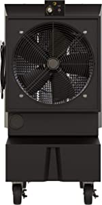 Big Ass Fans Cold Front 300 Portable Evaporative Cooler, Indoor/Outdoor, Continuous or Fillable, Variable Speed