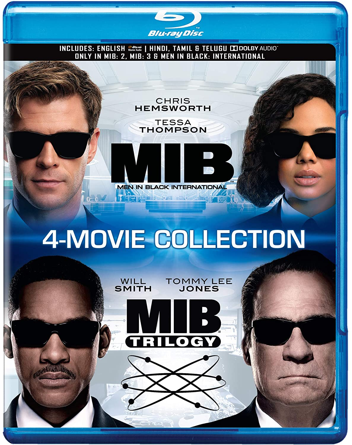 Amazon.in: Buy MIB: Men in Black - 4 Movies Collection - Men in ...