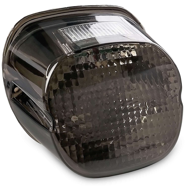 Krator Smoke LED Taillight Brake Light for 2007-2012 Harley Davidson Sportster 1200 Nightster - XL1200N KapscoMoto