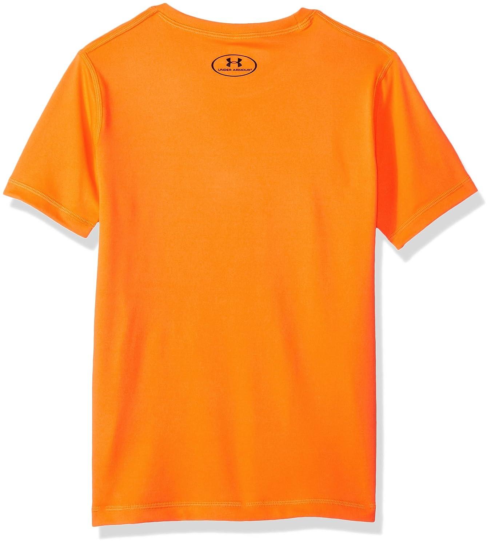 86d24e6770 Amazon.com: Under Armour Big Boys' Ua Stripe Logo Surf Shirt: Clothing