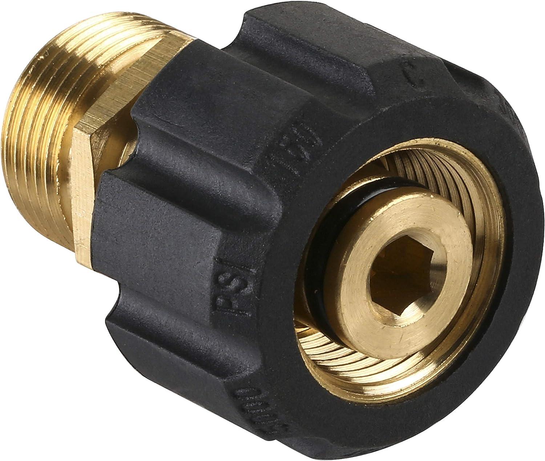 Pressure Washer Hose Connector Adaptor Garden Watering Sprayer Connect #13