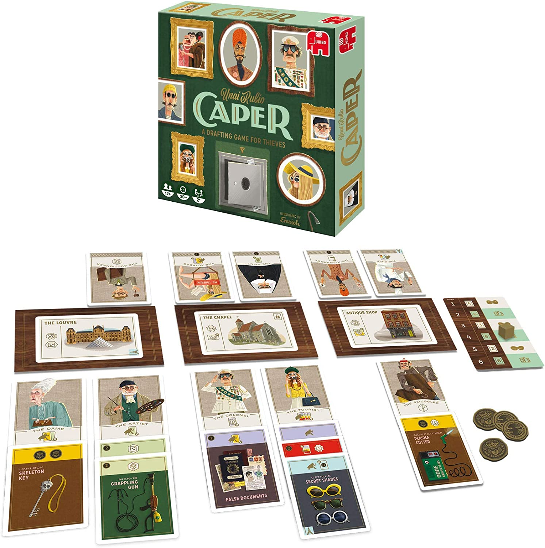 Caper 62406 Jeux de Draft JUMBO