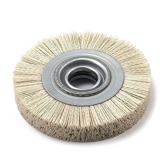 4.5 Dico Products 7200075//4.5 gray Nyalox Wheel brush Gray