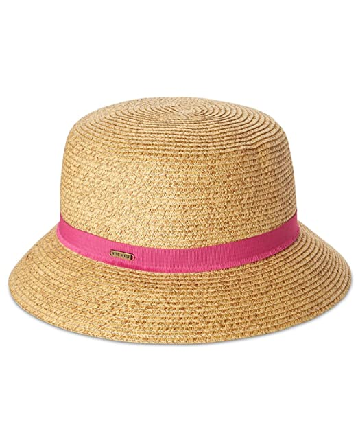 a95f3ba0b9441b Image Unavailable. Image not available for. Color: Nine West Womens  Packable Microbrim Hat ...