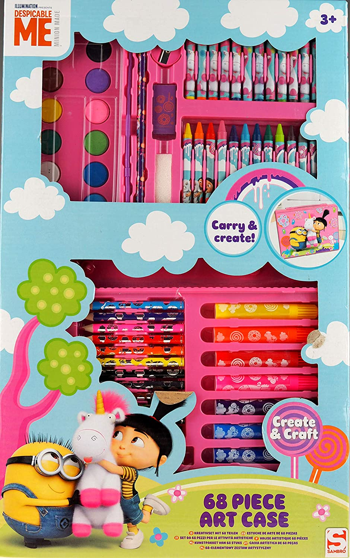 Minions MIN16-4630 - Estuche decorativo (68 piezas), multicolor , color/modelo surtido: Amazon.es: Juguetes y juegos
