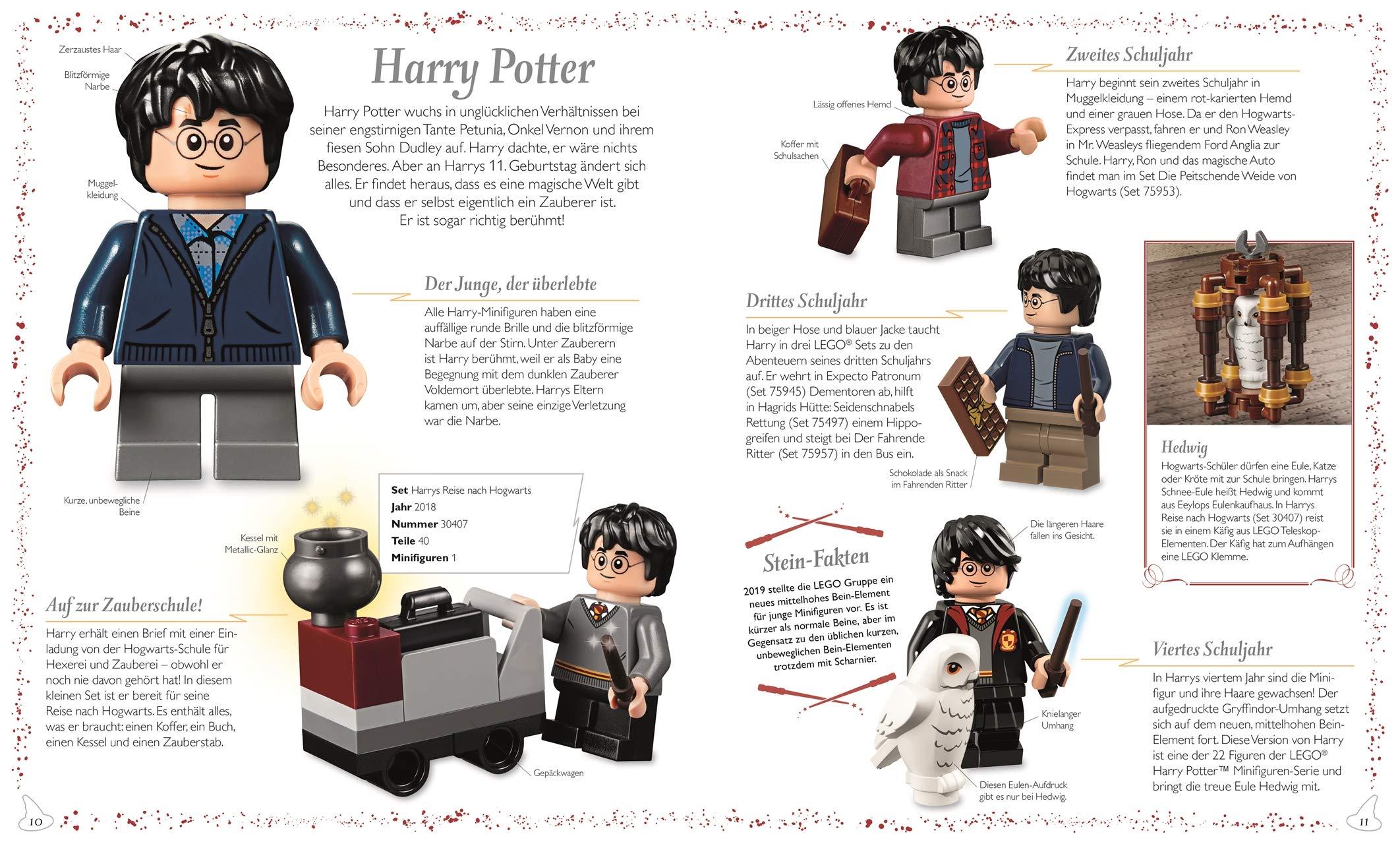 Lego Harry Potter Tm Das Magische Lexikon 9783831040810 Amazon Com Books
