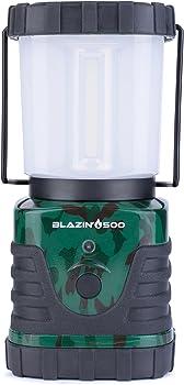 Blazin' Bison Brightest 500 Lumen LED Camping Lantern