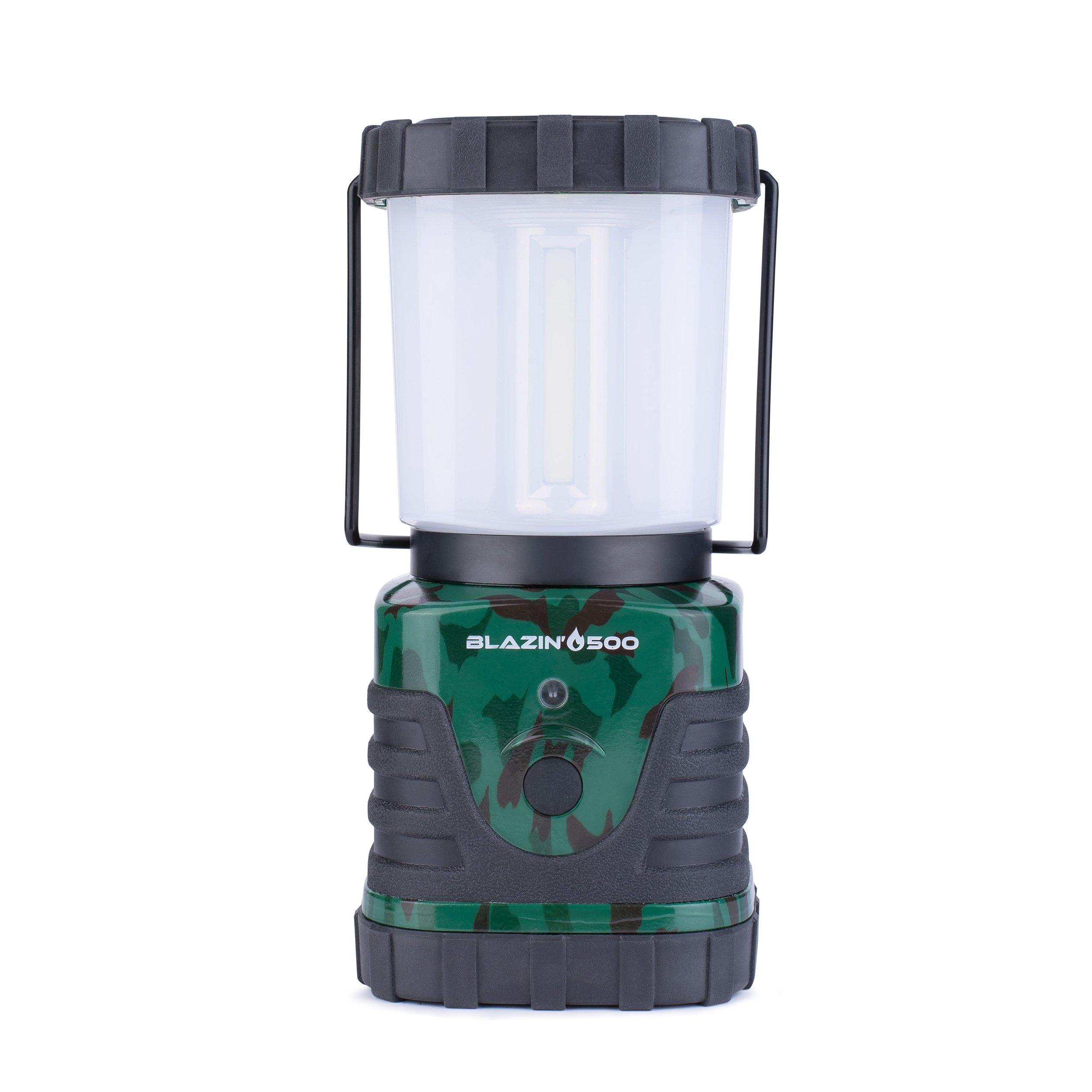 Brightest LED Storm & Power Outage Lantern - Battery Powered - 500 Lumen - 6 Day Run Time by Blazin' Bison