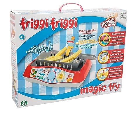 Friggi Friggi - Freidora Mágica Playset de Cocina con Luz y Sonido (Giochi Preziosi MA000001