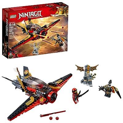 LEGO NINJAGO Masters of Spinjitzu: Destiny's Wing 70650 Building Kit (181 Pieces): Toys & Games