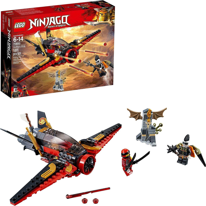 LEGO NINJAGO Masters of Spinjitzu: Destiny's Wing 70650 Building Kit (181 Pieces)
