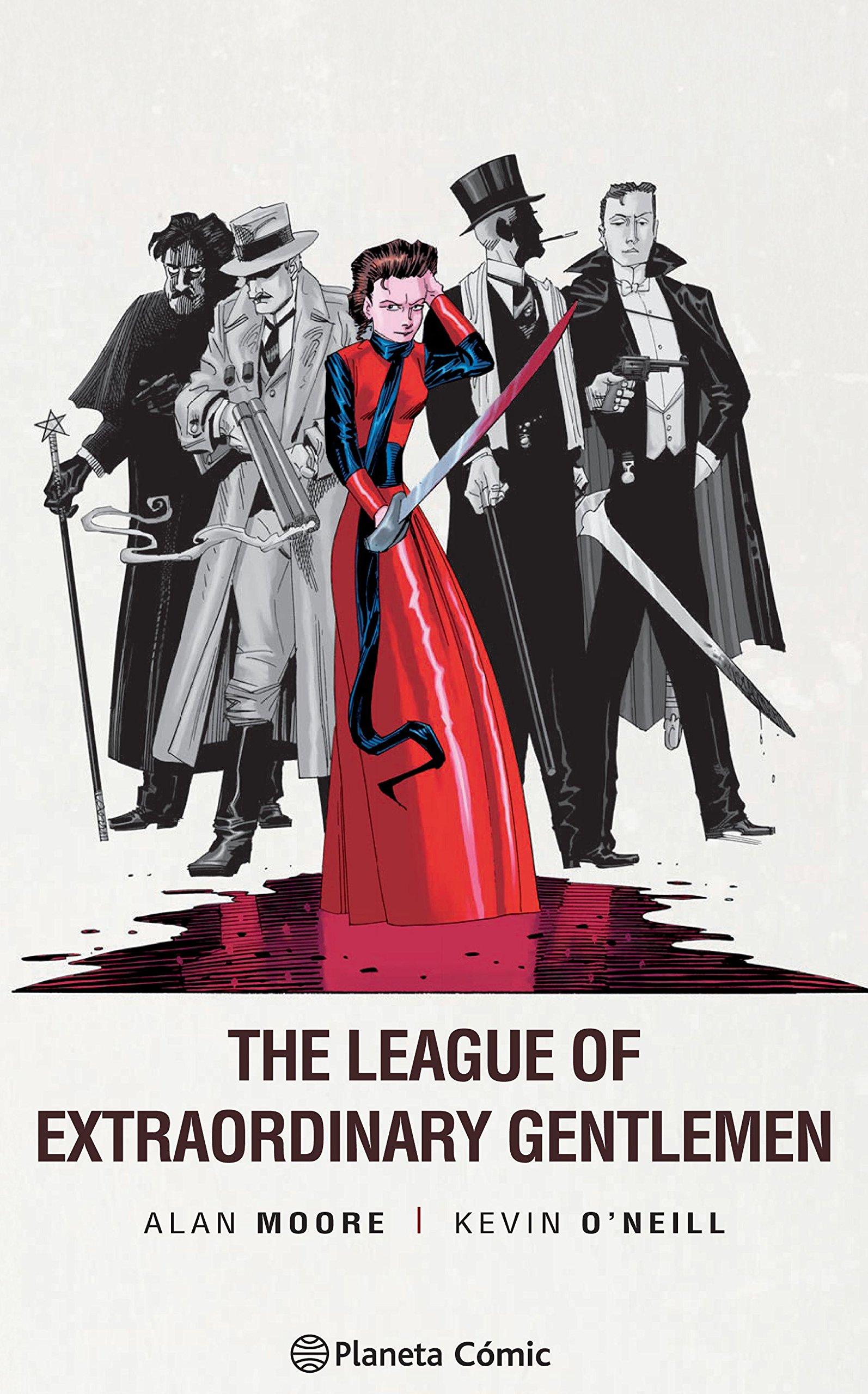 The League of Extraordinary Gentlemen nº 03/03 (edición Trazado) Tapa dura – 17 ene 2017 Alan Moore Kevin O'Neill Diego de los Santos Planeta DeAgostini Cómics
