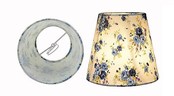 Lampenschirme Klein Kronleuchter ~ Doooitlight lampenschirm für kronleuchter deckenleuchte blau