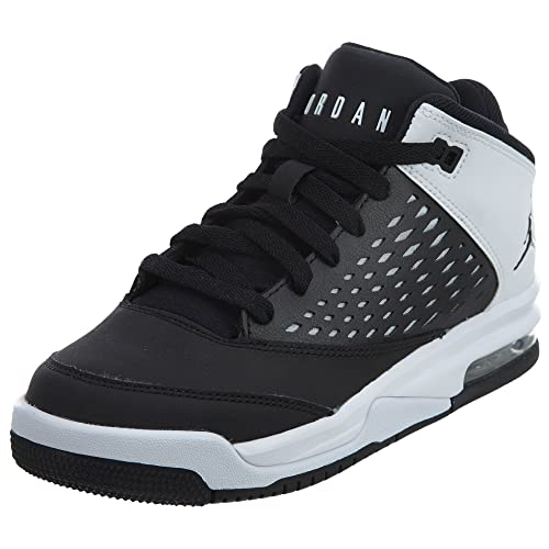 official photos eaaea 33020 Jordan Flight Origin 4 Black/Black (Big Kid)