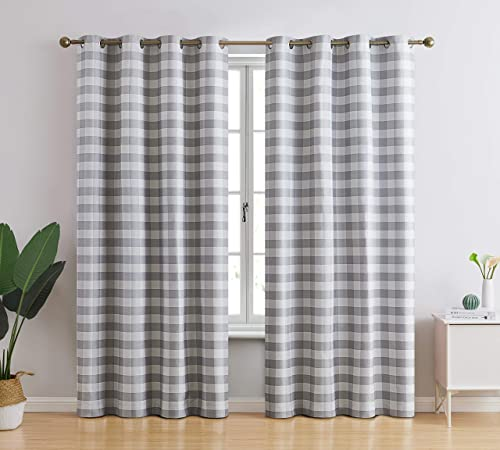 Deal of the week: HLC.ME Andersen Buffalo 100 Complete Blackout Thermal Insulated Energy Savings Heat/Cold Blocking Long Grommet Curtain Drapery Panels