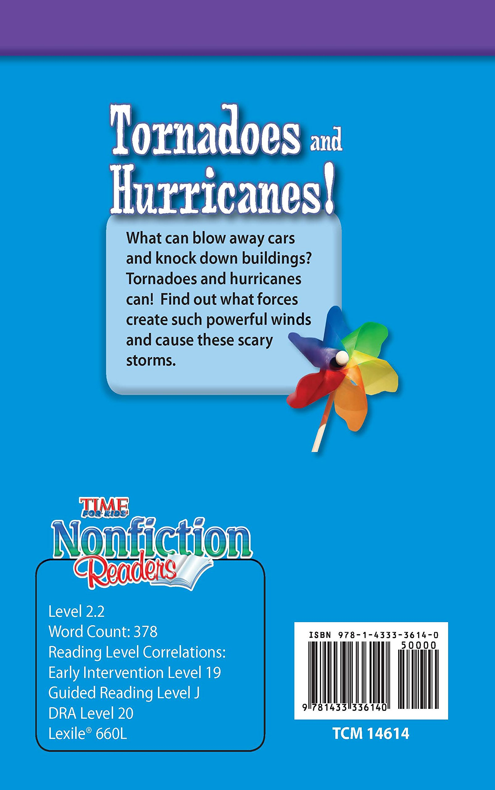 Buy Tornadoes and Hurricanes! (Time for Kids Nonfiction Readers) Book  Online at Low Prices in India | Tornadoes and Hurricanes! (Time for Kids  Nonfiction ...