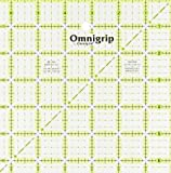 Omnigrip 6-1/2-Inch by 6-1/2-Inch Non-Slip Quilter's Ruler